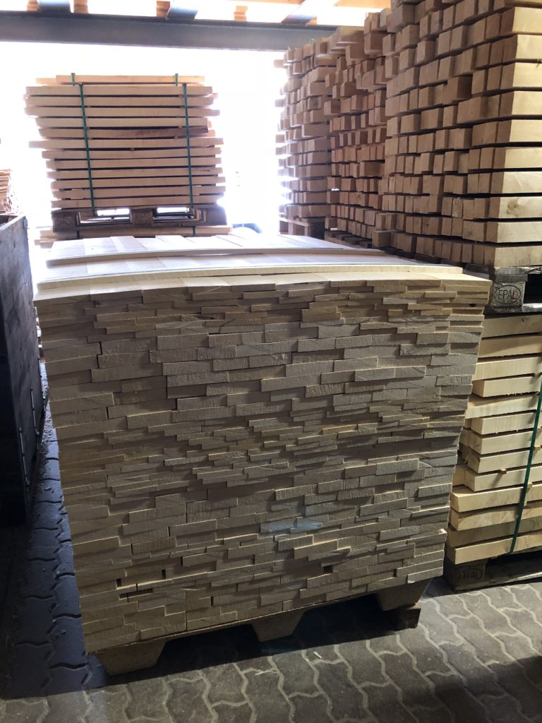 European Spruce Planks ready for Shipment to Reeder Pianos, Inc.