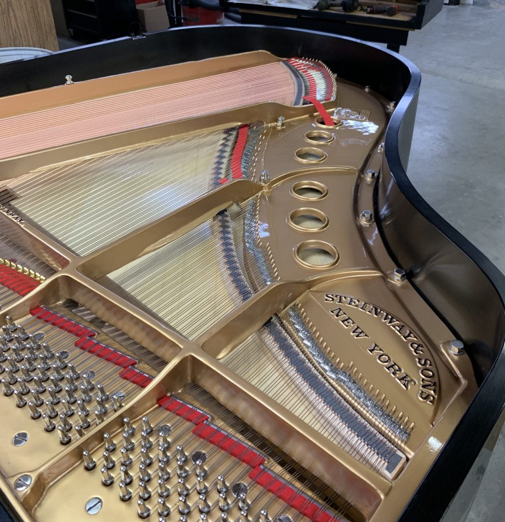 Completely Restored by RPI, Steinway Model L with European Spruce Soundboard