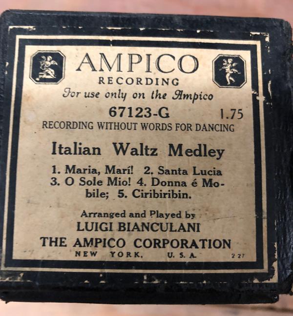 Italian Waltz Medley