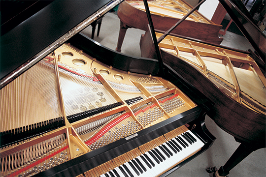 piano restoration complete